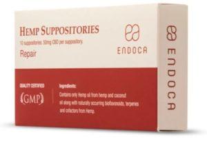 suppositoire cbd endoca 50mg
