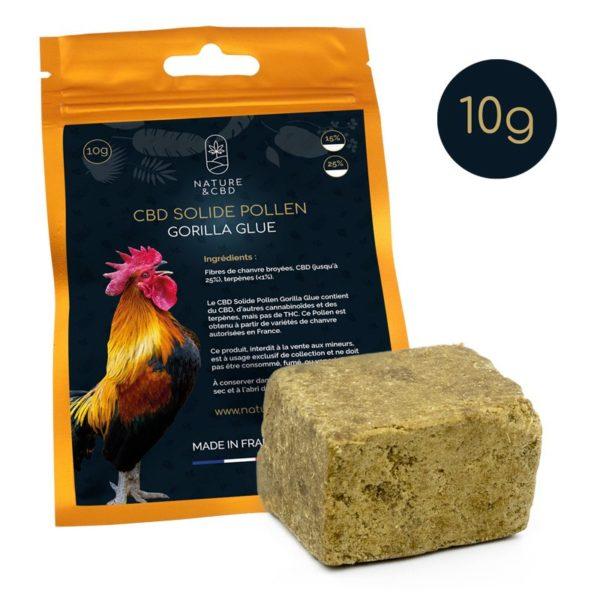 cbd solide pollen-gorilla-glue-10g