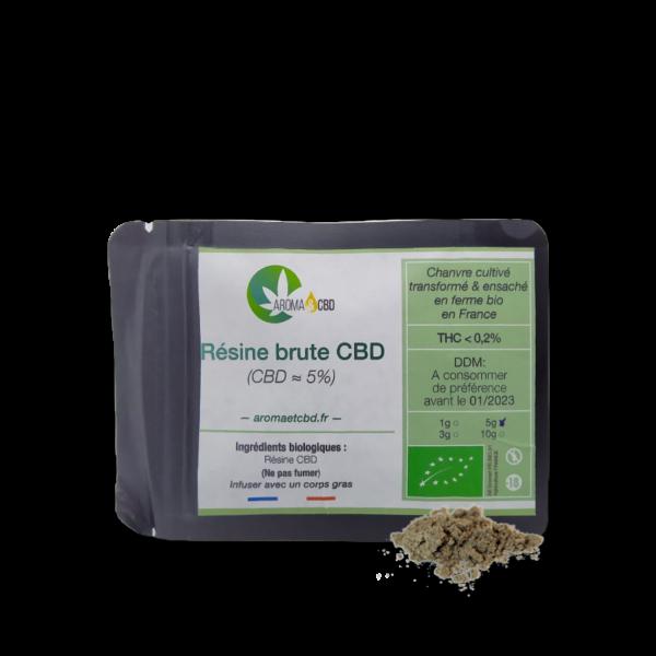 Résine Pollen CBD bio
